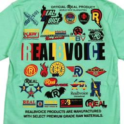 RealBvoice(リアルビーボイス)/キッズ ロゴバリエーションTシャツ(130-160cm) (イ)メロン/Back