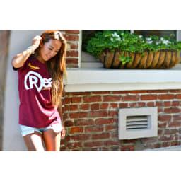 RealBvoice(リアルビーボイス)/レディース リアルTシャツ (ウ)レッド/Front