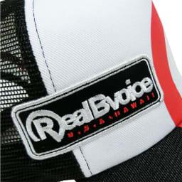 RealBvoice(リアルビーボイス)/メンズ R34 メッシュキャップ 刺繍&ワッペン