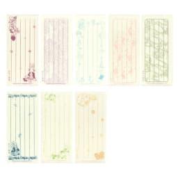 ピーターラビット/美濃和紙 名入れ便箋・一筆箋セット  一筆箋…32枚(8柄各4枚)