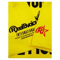 RealBvoice(リアルビーボイス)/ウェーブファイター SS レディースTシャツ (ア)イエロー