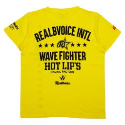 RealBvoice(リアルビーボイス)/ウェーブファイター SS レディースTシャツ (ア)イエロー…Back