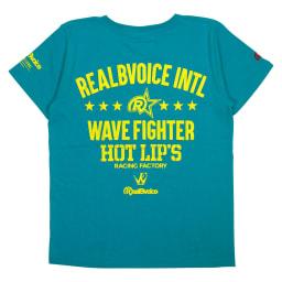 RealBvoice(リアルビーボイス)/ウェーブファイター SS レディースTシャツ (イ)ターコイズ…Back