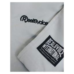 RealBvoice(リアルビーボイス)/Rプリントマイクロファイバー ユニセックスポンチョ