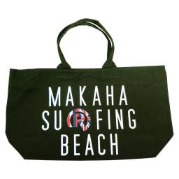 RealBvoice(リアルビーボイス)/HAWAII MAKAHA BEACH BAG|ビーチバッグ (イ)オリーブ