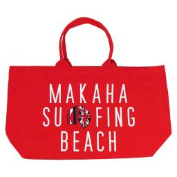 RealBvoice(リアルビーボイス)/HAWAII MAKAHA BEACH BAG|ビーチバッグ (ウ)レッド