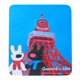 リサとガスパール マウスパッド (ウ)トウキョウタワー