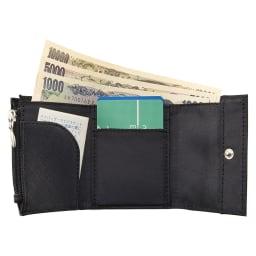 すっきり収まる手のり財布