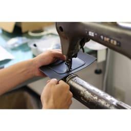 池之端銀革店/英国製ブライドルレザー三つ折りマイクロウォレット