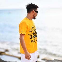 RealBvoice(リアルビーボイス)/クローバー柄 Tシャツ
