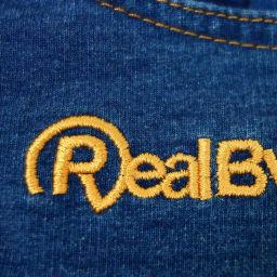 RealBvoice(リアルビーボイス)/キッズ バリエーションズ スウェットショートパンツ(140-160cm) 左ももにブランドロゴの刺繍入り