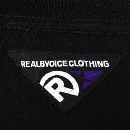 RealBvoice(リアルビーボイス)/ホリゾンタルレディス Tシャツ 背面首元のピスネーム