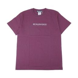 RealBvoice(リアルビーボイス)/ホリゾンタルレディス Tシャツ (ウ)バーガンディ
