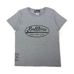 RealBvoice(リアルビーボイス)/サーフボードレディス Tシャツ (イ)グレー