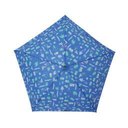 moz(モズ)/UVカット折り畳み傘 フォレストデザイン (イ)フォレストブルー