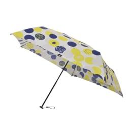moz(モズ)/UVカット折り畳み傘 エルクと水玉 (ウ)ドットイエロー