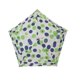 moz(モズ)/UVカット折り畳み傘 エルクと水玉 (イ)ドットグリーン