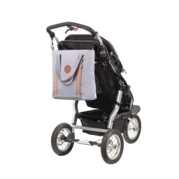 Laessig(レッシグ)/ヴィンテージトートバッグ バギーフックでベビーカーに取付できます