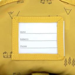 Laessig(レッシグ)/キッズ ミディアムバックパック 内側にネームプレート付き