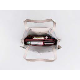 COGIT(コジット)/自由自在!サイズが変わるバッグインポケット 半分に折りたたんで幅の小さいバッグにも入れることができます
