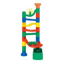 くもん/NEWくみくみスロープ|知育玩具 16ピース使用