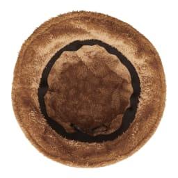 COGIT(コジット)/ボアコーデュロイ帽子 内側は前面ボア生地使用