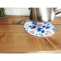 moz(モズ)/セラミック鍋敷き2Pcsセット