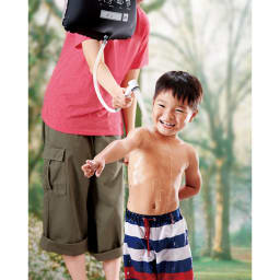 COGIT(コジット)/小さく保存!ストッパー付シャワーバッグ