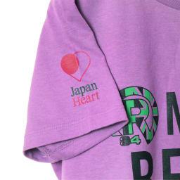 RealBvoice(リアルビーボイス)/ジャパンハート ゴー マカハビーチ レディスTシャツ (ア)ラベンダー…side