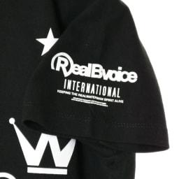 RealBvoice(リアルビーボイス)/ジャパンハート ウェーブファイターレディスTシャツ (ア)ブラック…side