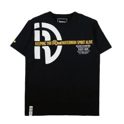 RealBvoice(リアルビーボイス)/ウォーターマン スピリット タイプS Tシャツ (ウ)ブラック…front