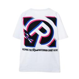 RealBvoice(リアルビーボイス)/ボックス シフト Tシャツ (ア)ホワイト…back