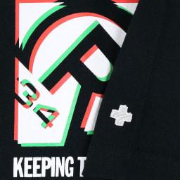RealBvoice(リアルビーボイス)/ボックス シフト Tシャツ (イ)ブラック