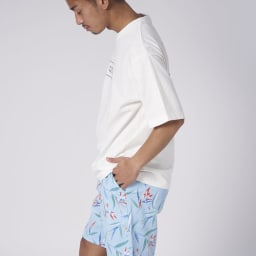 OP(オーシャンパシフィック)/クラシカルデザイン メンズTシャツ (ア)ホワイト