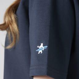 OP(オーシャンパシフィック)/シンプルロゴデザイン レディスTシャツ (イ)ネイビー
