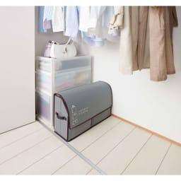 活性炭入り紙袋収納ボックス 使い易く、すっきり収納!