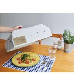 あると便利なアニマルフードカバー お料理をほこりや乾燥から守る※参考画像はNV5846