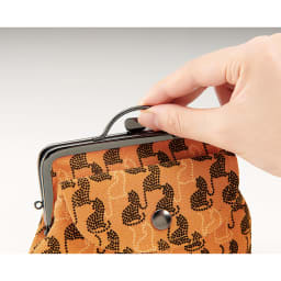 COGIT(コジット)/京都ちりめん猫 がま口財布