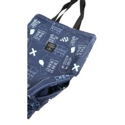 MYSiG(ミューシグ)/リバーシブル2wayバッグ 外側に小さめのファスナーポケット付き