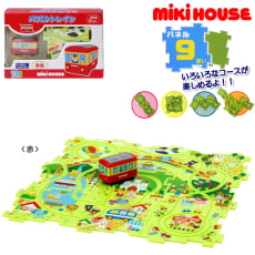 miki HOUSE(ミキハウス)/パズルトレイン|おもちゃ 写真