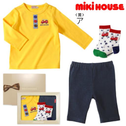 miki HOUSE(ミキハウス)/Tシャツ3点セット (ア)イエロー