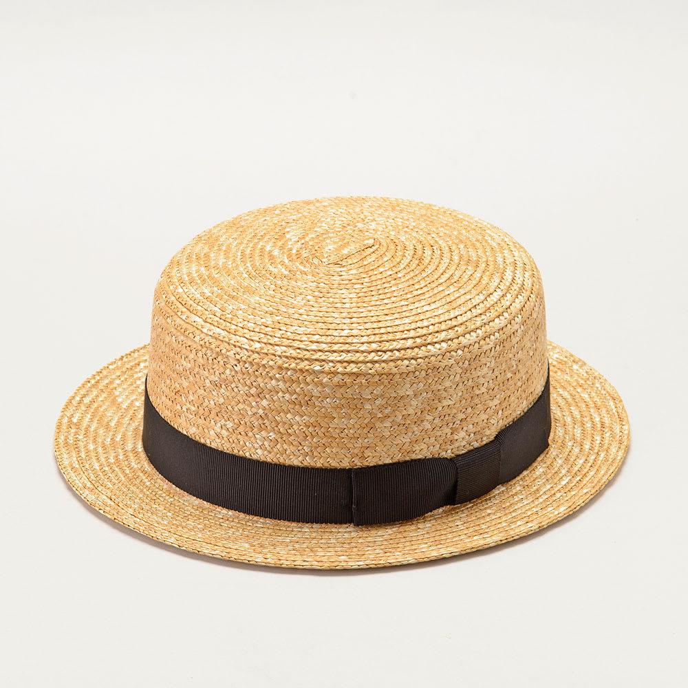 田中帽子店/麦わら帽子 子供用カンカン帽 マラン