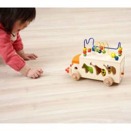 Ed・Inter(エド・インター)/アニマルビーズバス|おもちゃ・知育玩具
