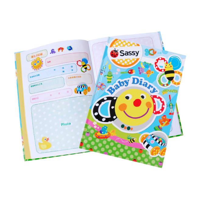 育児日記 Sassy/サッシー ポップ(名入れなし)