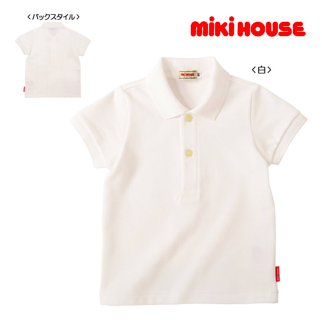miki HOUSE(ミキハウス)/半袖ポロシャツ(80-90cm)