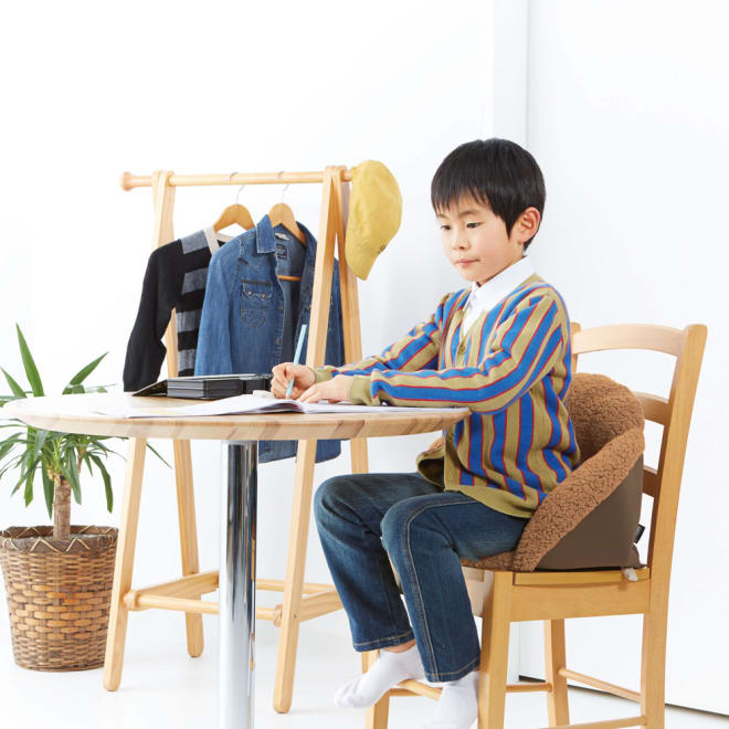 腰すっぽり座れるキッズ毛布