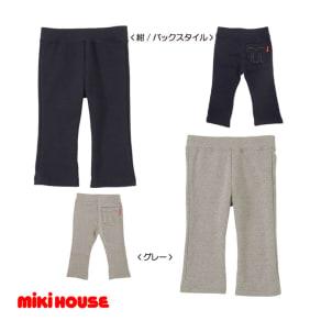 miki HOUSE(ミキハウス)/Mステッチやわらかパンツ(80-120cm) 写真
