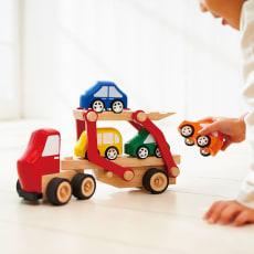 Ed・Inter(エド・インター)/カーキャリアトラック|おもちゃ・知育玩具
