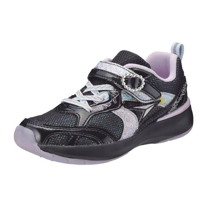 アキレス瞬足/レモンパイ 411(19-23cm)|子供靴 (ア)ブラック