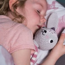 sebra(セバ)/うさぎさんの編みぐるみ|ベビー おもちゃ
